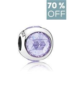 jewellery: Pandora Silver Lavender Charm!