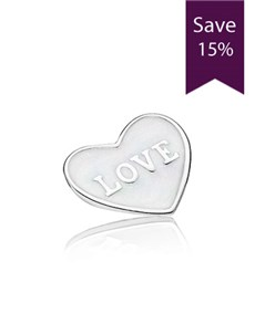 jewellery: Pandora Small Heart Plate!