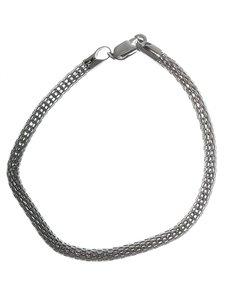 jewellery: Sterling Silver 19sm Mesh Design Bracelet!