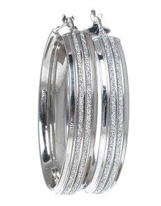 jewellery: Sterling Silver Hollow Hoop Earrings!