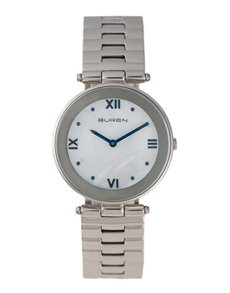 watches: Buren Ladies Stainless Steel Watch!