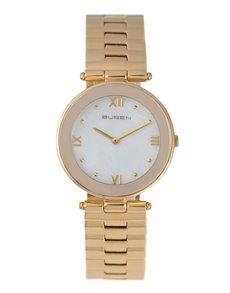 watches: Buren Ladies Pale Yellow Gold Watch!
