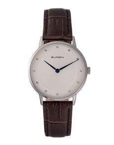 watches: Buren Ladies Brown and Silver Watch!