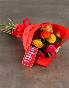 flowers: Arsenal Bouquet!