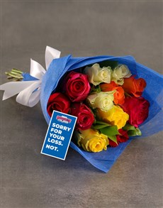flowers: Brighton And Hove Albion Bouquet!