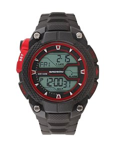 watches: Bad Boy Gents Black and Red Digi Watch!