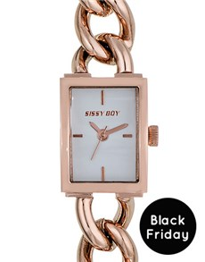 watches: Sissy Boy Ladies Rose Gold Watch!