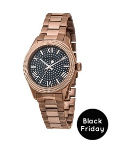 watches: Sissy Boy Ladies Glamour Rose Gold Watch!