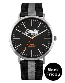 watches: Superdry Gents Oxford Ion plated Silver Watch!
