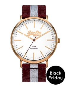 watches: Superdry Gents oxford Rose Gold Watch!