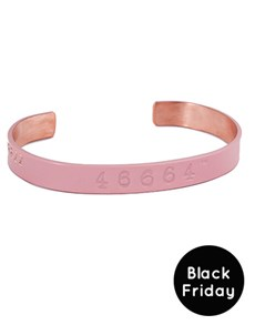 46664 Copper Bangle BF Pink