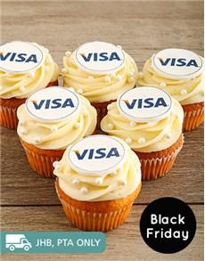 bakery: Custom Branded Vanilla Cupcakes!