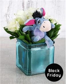 flowers: Eeyore Rose Arrangement!