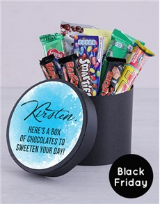 gifts: Personalised Black Friday Sweeten Your Day Hat Box!