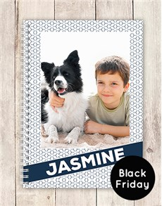 gifts: Personalised Black Friday Photo Notebook!