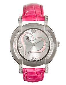watches: Bad Girl Allure Pink Watch !