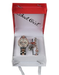 watches: Bad Girl Rose Watch and Bracelet Set!