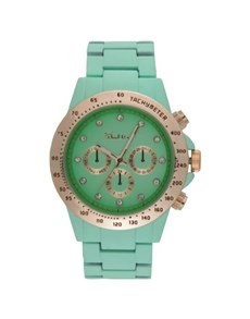 watches: Bad Girl Foxy Mint Green Ladies Watch!