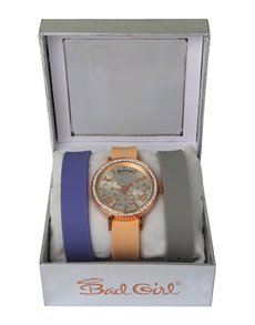 watches: Bad Girl Couture Interchangeable Strap Set!