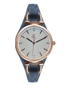 watches: Bad Girl Broadway Rose Gold and Navy Watch !