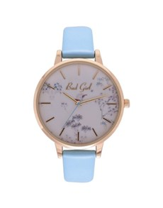 watches: Bad Girl Flounce Blue Watch!
