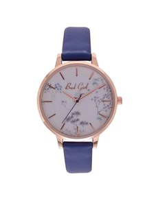 watches: Bad Girl Flounce Rose Case Watch!