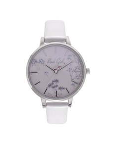 watches: Bad Girl Flounce White Watch!
