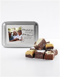 bakery: Fathers Day Photo Chocfull Brownies Tin!