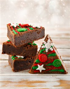 Brownie Holiday Trees