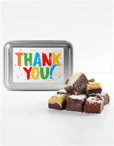 bakery: Thank You Brownie Tin!