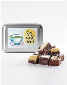 bakery: Get Well Soon Brownie Tin!