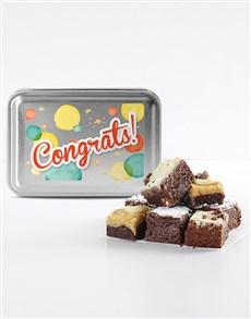 bakery: Congratulations Brownie Tin!