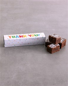 bakery: Thank You Brownie Box!