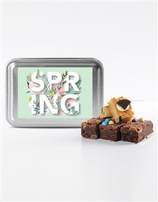 gifts: Spring Time Mixed Delight Brownies!
