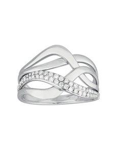 jewellery: 9KT White Gold Diamond Ring C106!