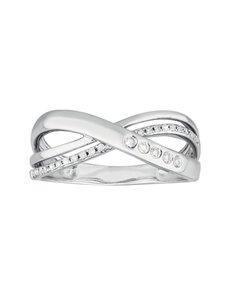 jewellery: 9KT White Gold Diamond Ring C110!