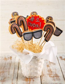 bakery: Cookies for Grandpa Cookie Bouquet!