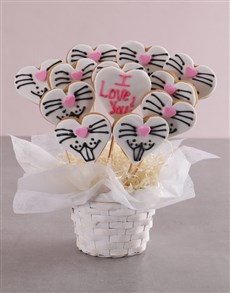 bakery: Love Bunny Cookie Bouquet!