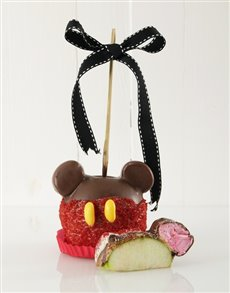 bakery: Mickey Mouse Chocolate Candy Apple!