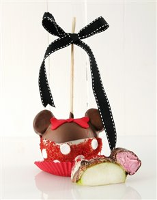 bakery: Minnie Mouse Chocolate Candy Apple!