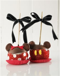 bakery: Mickey and Minnie Mouse Candy Apple Combo!