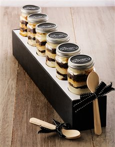 Picture of 6 Espresso Express Cupcakes in a Jar!