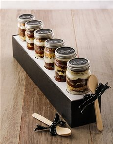 Picture of 6 Top Deck Cupcakes in a Jar!