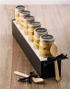 Picture of 6 Salted Caramel Cupcakes in a Jar!