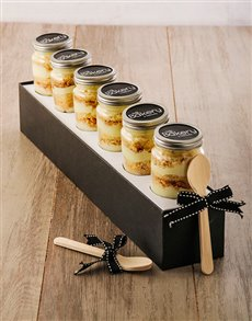 bakery: Half Dozen Milk Tart Cupcake Jars!