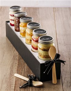 Picture of 6 The Tart Cupcakes in a Jar Combo !