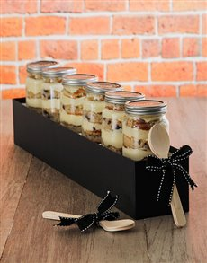 bakery: 6 Lemon and Blueberry Cupcake Jars For Dad!
