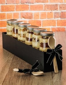 bakery: 6 Dads Favourite Cupcake Jars Combo!