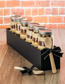 bakery: 6 Fathers Day Crunchie Cupcake Jars!