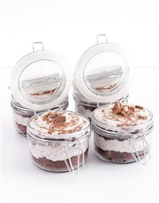 bakery: Flake Cupcake Jars!